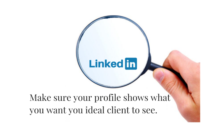 Optimized LinkedIn profile